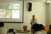 モリス博士によるイギリスの哺乳類の現状説明
