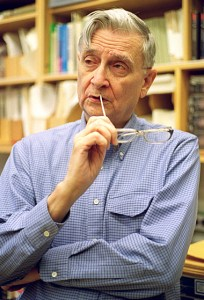E.O. Wilson (Harvard University photo)