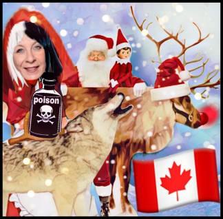Patty Hajdu, wolf, caribou, Santa