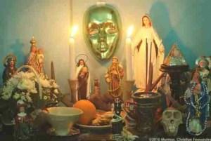 Santarian altar.