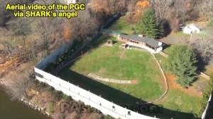 Aerial view of the Philadelphia Gun Club.