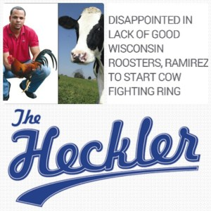 Aramis Ramirez's enthusiasm for cockfighting made him a target of the satirical web site The Heckler.