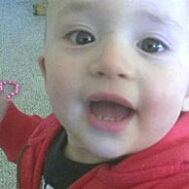 Daxton Borchardt, killed by two pit bulls on March 6, 2013.