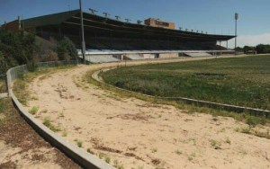 The former Mile High greyhound track near Denver closed on September 1, 2008.