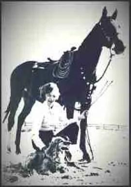 """Velma """"Wild Horse Annie"""" Johnston."""