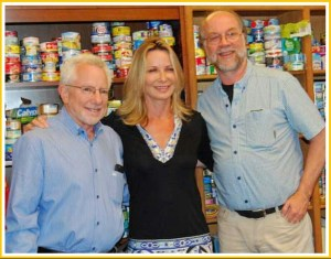 Mark Berman, Voices In The Ocean author Susan Casey, and David Phillips. (EII photo)