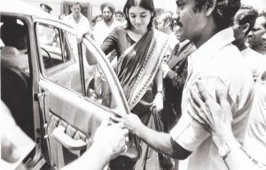 Maneka Gandhi in 1978.