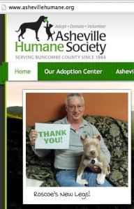 Yet another Asheville Humane Society pit bull promotion.