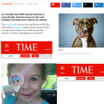 KFC story may have been a hoax,  but 3-year-old pit bull victim's scars are real