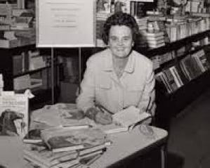 Journalist Ann Cottrell Free (1916-2004) was instrumental in winning passage of the Laboratory Animal Welfare Act of 1966 and the amendments that made it the Animal Welfare Act of today in 1971.