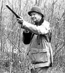 Eisenhower hunted mostly during duck season.