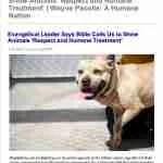 Humane Society of the U.S. president Wayne Pacelle woos anti-gay evangelist