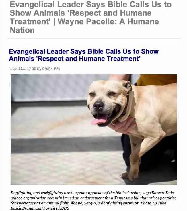 Humane Society of the U.S. president Wayne Pacelle woos anti ...