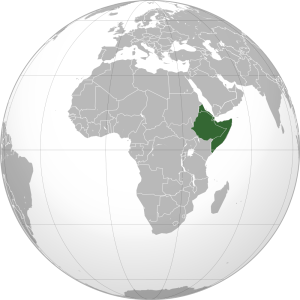 Horn of Africa. (Wikipedia map)