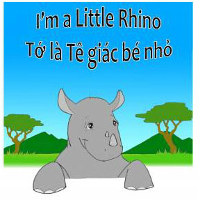 I am a little rhino photo