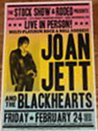 Joan Jett rodeo poster
