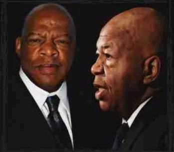 John Lewis and Elijah Cummings