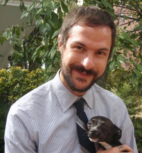 PETA director of laboratory investigations Justin Goodman (PETA photo)