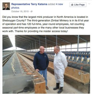 Outside of Wisconsin, the leading fur-farming state, U.S. politicians mostly no longer pose with furriers or fur farmers.