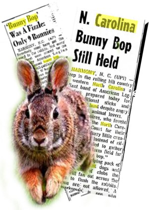 "The ""bunny bop"" organizers were defiant in 1963, but quit the killing contest after the 1967 debacle."