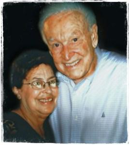 Lori Golden and Bob Barker