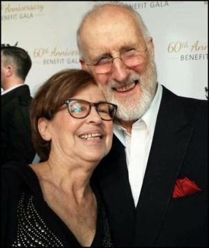 Lori Goldman and James Cromwell