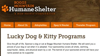 """The Boggs Mountain Humane Shelter's """"Lucky Dog"""" program was a conduit for embezzlement."""