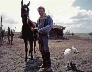 Michael Blake with Twelve.  (Protect Mustangs photo)