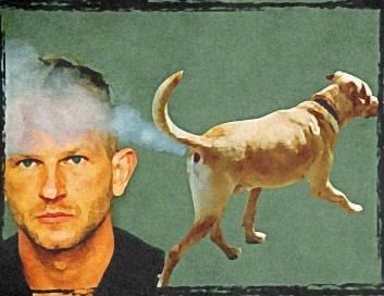 Michael Close arrest with dog