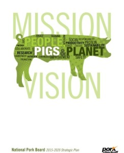 A National Pork Board promotional publication.