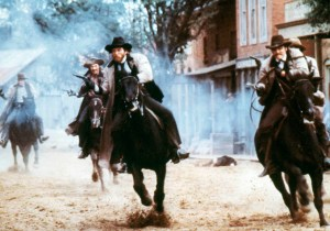 Scene from The Long Riders (1980).