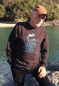 Ric O'Barry in Taiji. (Facebook)