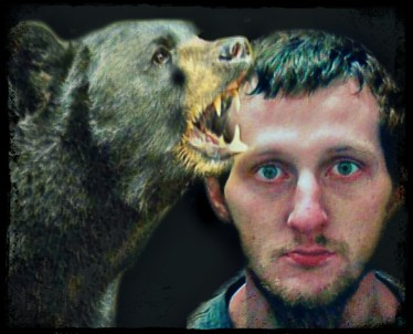 Brian Michael Reel and bear