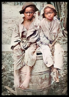 Slave children by Matthew Brady