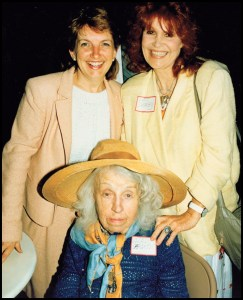 Virginia Handley, Gladys Sargent, and Pat Derby