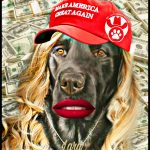 Lara Trump's theme: bash China, boost Donald, in the name of dog rescue
