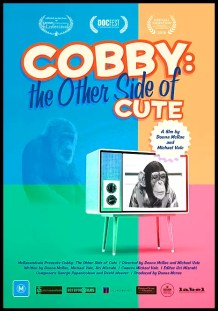 Documentary poster for Cobby: the other side of cute