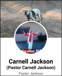 Carnell Jackson Facebook profile and father of Shamar Jackson pit bull attack victim