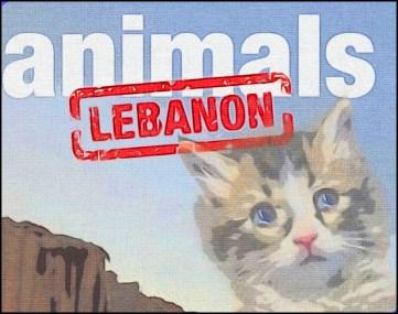 Animals Lebanon poster