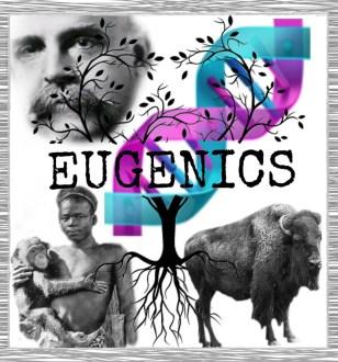 Madison Grant, DNA helix, Ota Benga, & bison