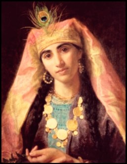 Scheherazade, painted in the 19th century bySophie