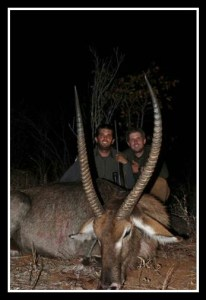 Eric & Donald Trump Jr. killed this antelope, too.