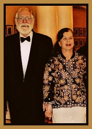 Jack Woodall with his wife Mary Crawshaw. (British & Commonwealth Society of Rio de Janeiro photo)