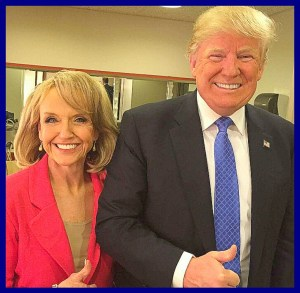 Jan Brewer & Donald Trump. (Facebook photo)