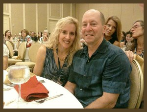 Janet Enoch & Steve Hindi at the AR-2015 conference in Alexandria, Virgina.