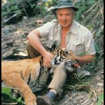 The Big Five:  Peter Jackson,  90,  helped to save Indian tigers