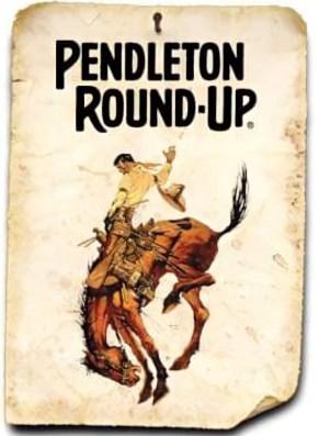 Pendleton Roundup rodeo poster