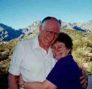Roger Prior,  DVM,  and Peggy Larson,  DVM,  JsD.  (Facebook)