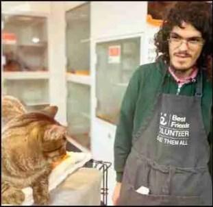 Shimon Shuchat at Best Friends Animal Society