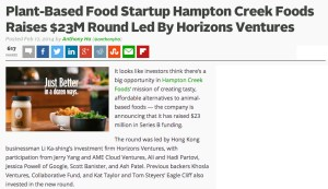 Headlines like this one from TechCrunch in February 2014 apparently scare the beans out of the American Egg Board.